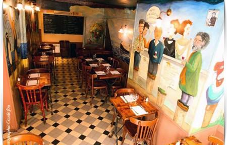 COUDE FOU restaurant, bar à vin