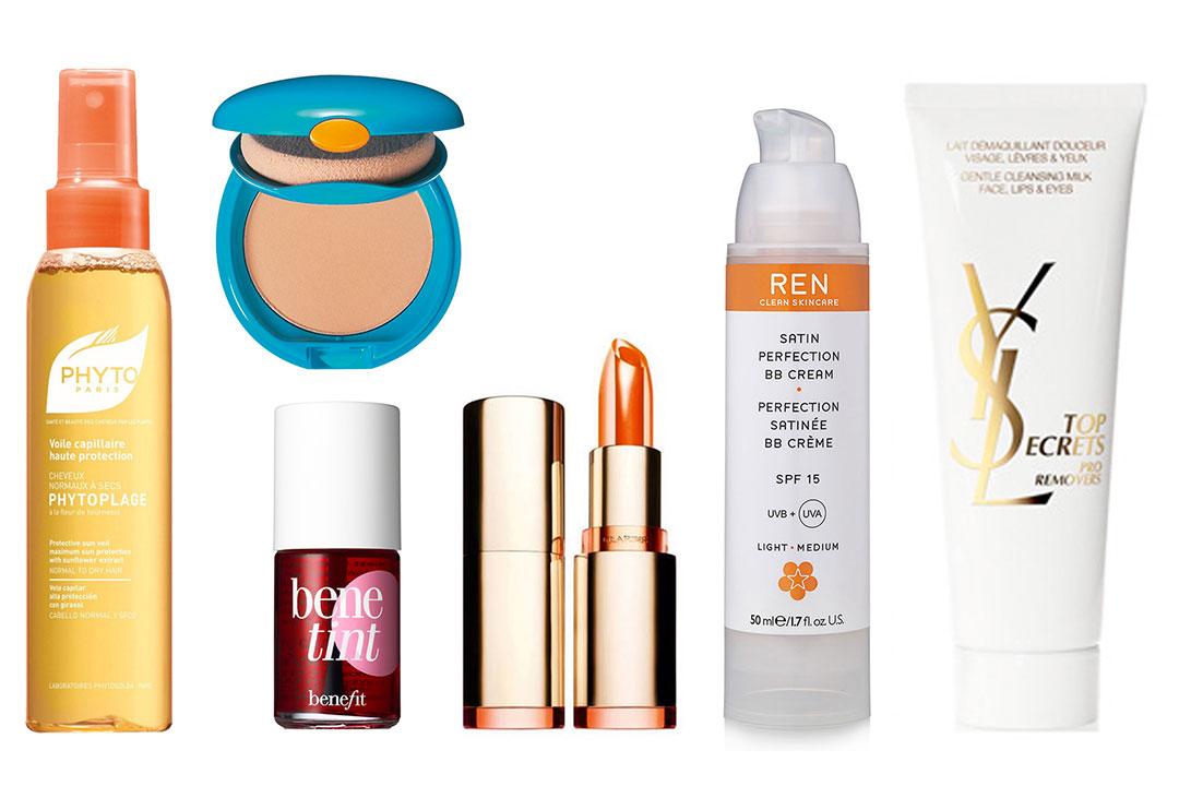 Crédits : Ren, Shiseido, Benefit, Clarins, Phyto, YSL