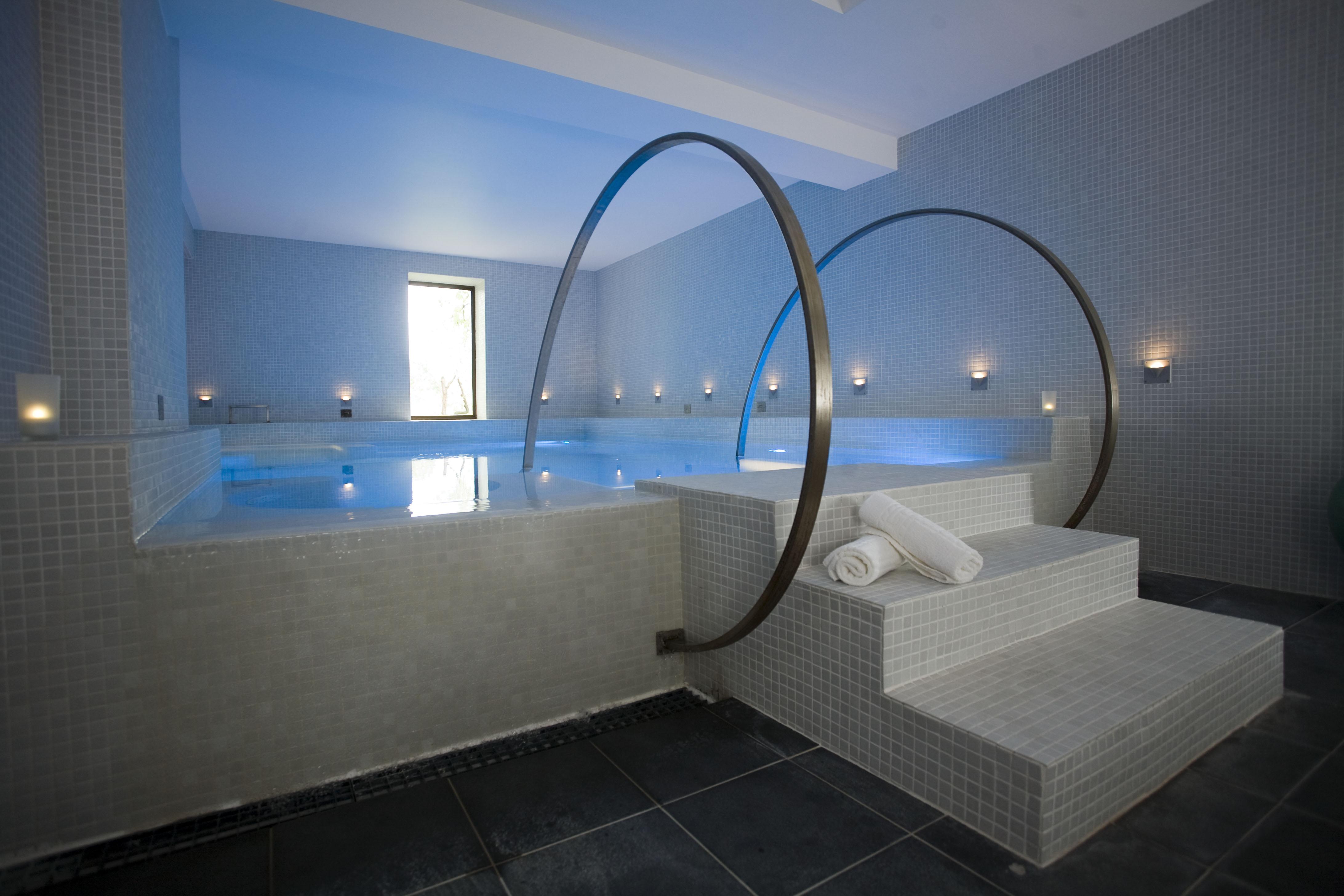 Le spa de l'Oustau de Baumaniere aux Baux de Provence